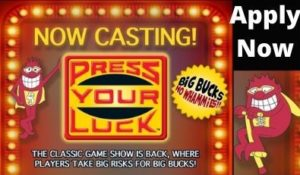 Press Your Luck Casting