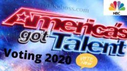 America's Got Talent Voting