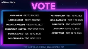 Votando American Idol