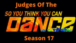 Judges For So You Think You Can Dance