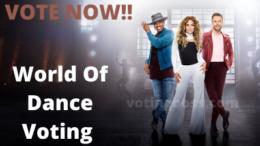 World Of Dance Voting
