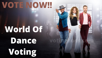 World Of Dance Voting