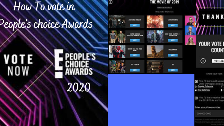 People's Choice awards Voting